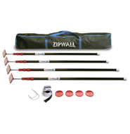 ZIPWALL Spring Loaded Poles - 4 pack