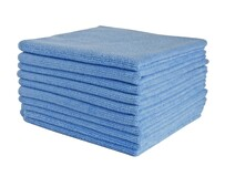 COMMERCIAL MICROFIBRE CLOTH BLUE 40CM X 40CM