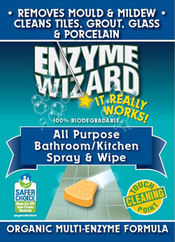 Enzyme Wizard Bathroom and Kitchen Spray