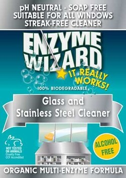 Enzyme Wizard - Glass & Stainless Steel 1 LTR